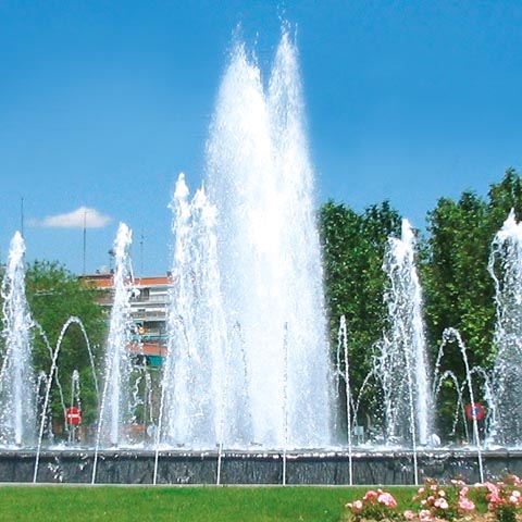 MIDAS Pool Products – Wasserfontäne Cascade Jet