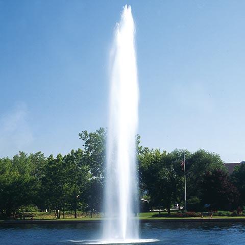 MIDAS Pool Products – Wasserfontäne Geyser Titan