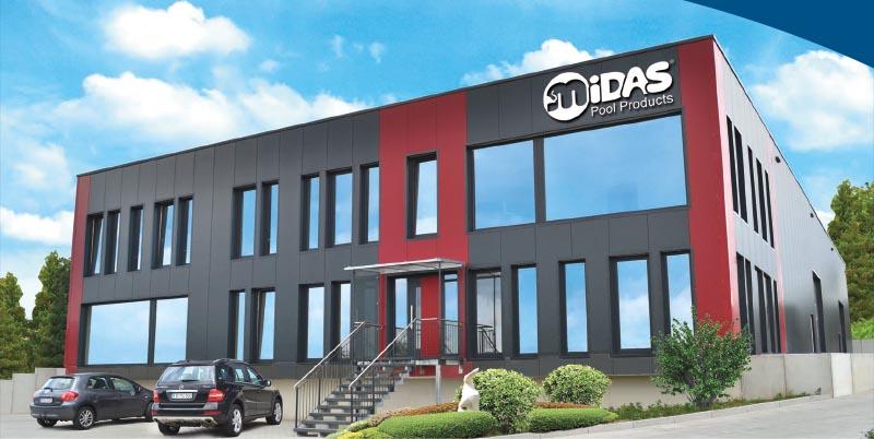 MIDAS Pool Products – Firmengebäude